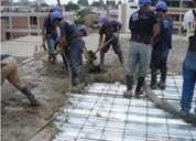Construccion de losa para vivienda con lamina steel deck de novalosa