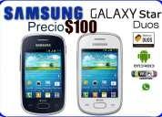 Samsung  start  doble chip, nuevo, sellado,  homologado