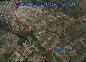 nayon urbanizacion exclusiva un lote de terreno  1700 m2 $ 391.000.00