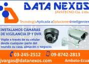 Instalamos cámaras ip / dvr / cableado estructurado / fibra Óptica