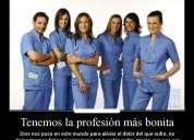 auxiliar de enfermerÍa aval colegio médico. certificación a nivel tecnológico superior
