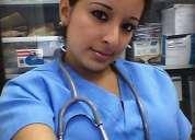 Enfermera auxiliar de geriatria