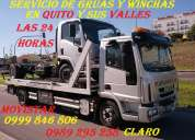 Servicio de grua en cumbaya, tumbaco, nayon, guapulo, tunel guayasamin  movi: 0992929897 wincha
