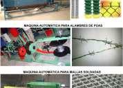 Maquinas automaticas para alambres