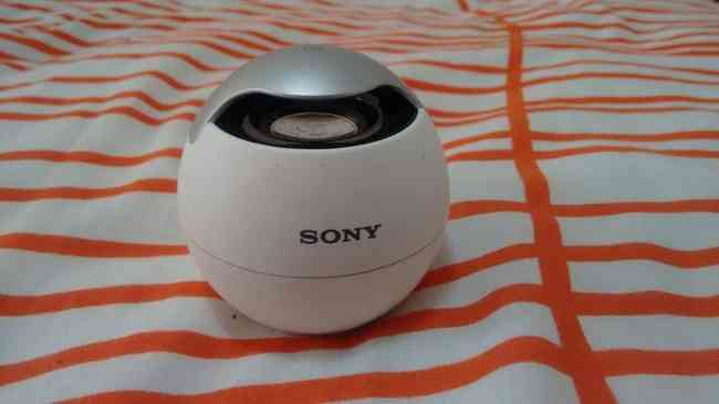 Bocina bluetooth Sony