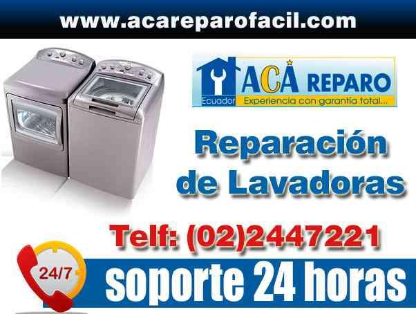 REPARACION DE LAVADORAS EN QUITO