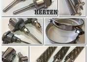 Resistencias electricas tipo cartucho calefactor y resistencias electricas de inmersion - herten