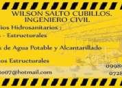 Ingeniero civil -  diseÑos cype cad