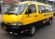 furgoneta para expreso escolar y personal