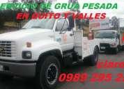 Servicio de grua pesada en quito para camiones, trailers, cabezales movi: 0992929897 las24horas