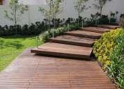 Pergolas de madera ,casas,decks,puentes pasarelas pantallas acusticas