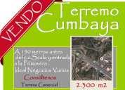 Terrenos en cumbaya, tumbaco, alta plusvalia, vendo terrenos