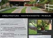 Jardín(es), riego, mantenimiento, arquitectura, diseño.