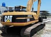 Excavadora caterpillar 320l oportunidad