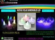 Velas sumergibles/decoración para hogar,eventos nuevo modelo