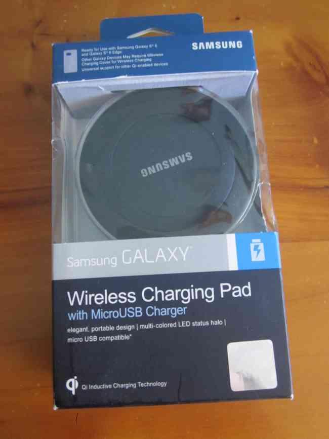 Cargador Wireless negro para galaxy S6 samsung 100% original y selladoo