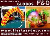 Decoracion con globos en quito