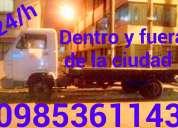 Quito servicio de transporte en winchas, gruas, plataformas autocargables