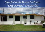 Venta casa sector norte quito