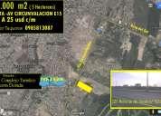 Terreno 5  hectáreas de venta en manta inf. al 0985813087