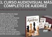 Curso audiovisual de ajedrez con sus libros respectivos