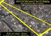 Solo propietarios, busco terreno en sector comercial valle de los chillos  0985813087