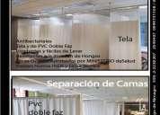 Cortinas hospitalarias, antibacteriales, cubiculares 022230207