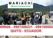 Precio de mariachis en quito $40 promociÓn llÁmanos 2499926 0987286231