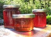 Frascos de vidrio para conservas y alimentos