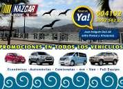 Alquiler de autos quito ecuador nazcar rent a car  desde 29.00 usd