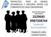 AsesorÍa y elaboraciÓn de tesis, profesionales en derecho