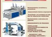 mecanico industrial servicios técnicos a empresas industriales