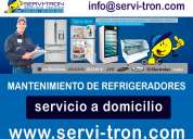 Mantenimiento de refrigeradores a domicilio quito norte