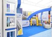 Diseño y construccion de islas stands y exhibidores en guayaquil