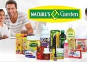 Venta por catalogo productos nature's garden