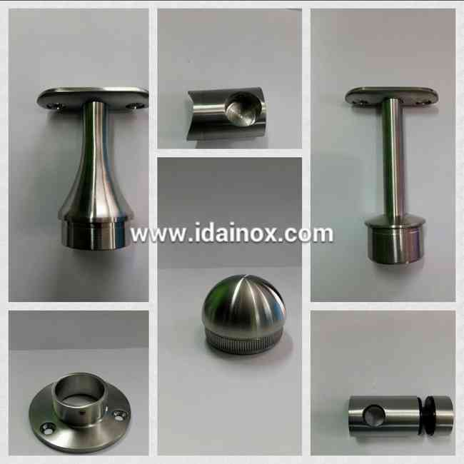 Accesorios para pasamanos de acero inoxidable quito triangulo doplim 630952 - Accesorios de acero inoxidable para barandillas ...