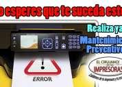 Mantenimientos y reparación de impresoras en guayaquil