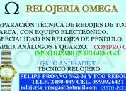 Relojería omega / centro técnico