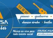 Promociones cursos musicasa piano, guitarra , canto, dibujo