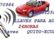 Llaves para autos   24 horas    trabajos garantizados 0991370984
