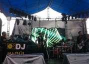 alquiler pantallas gigantes led, sonido e iluminación en ecuador