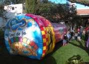 Animacion de eventos fiestas infantiles payasos titeres pintacaritas hora loca mimos inflables