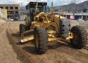 Motoniveladora y martillo hidráulico de alquiler 0999193805