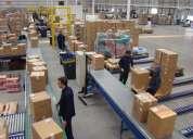 Estamos buscando personas para distribuir productos de consumo