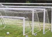 Mallas para redes arcos de futbol no gruesas livianas resitente