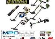 Impomax detector de metales garrett ace250 oro entierro minas playa