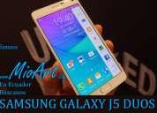 Samsung j5 duos (13mp quadcore 16gb dual flash) celular barato pallatanga chunchi pichincha