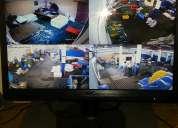 camaras de seguridad 2 aÑos de garantia , instalacion , vea por internet