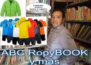 Libros y ropa usada en buen estado compro, vendo, cambio