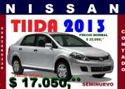 Nissan tiida 2013 oferta $ 17050 dlares cel 0982885336